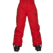 Obermeyer Brisk Teen Boys Ski Pants, Red, medium