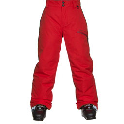 Obermeyer Brisk Teen Boys Ski Pants, Red, 256