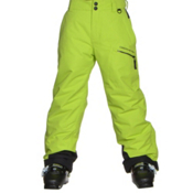 Obermeyer Brisk Teen Boys Ski Pants, Screamin Green, medium