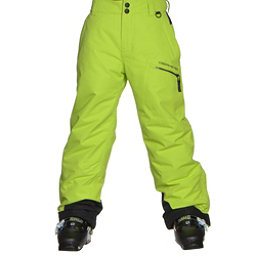 Obermeyer Brisk Teen Boys Ski Pants, Screamin Green, 256