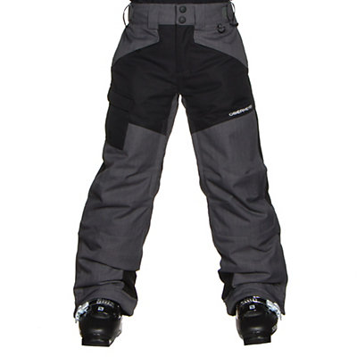 Obermeyer Porter B Kids Ski Pants, Graphite, viewer