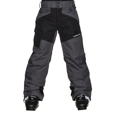 Obermeyer Porter Teen Boys Ski Pants, Graphite, viewer