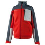 Obermeyer Rev Fleece Boys Jacket, Red, medium
