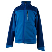 Obermeyer Rev Fleece Teen Boys Jacket, Stellar Blue, medium