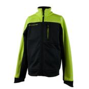 Obermeyer Rev Fleece Teen Boys Jacket, Screamin Green, medium