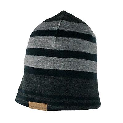 Obermeyer Traverse Knit Toddler Boys Hat, Light Heather Grey, viewer