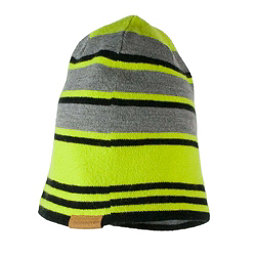 Obermeyer Traverse Knit Toddler Boys Hat, Green Flash, 256