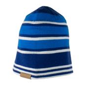 Obermeyer Traverse Knit Teen Boys Hat, Stellar Blue, medium