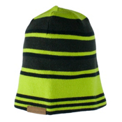 Obermeyer Traverse Knit Teen Boys Hat, Screamin Green, medium