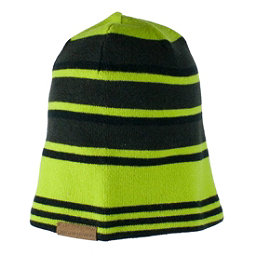 Obermeyer Traverse Knit Teen Boys Hat, Screamin Green, 256