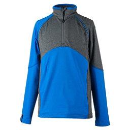 Obermeyer Transport Tech Teen Boys Long Underwear Top, Stellar Blue, 256