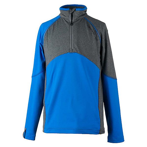Obermeyer Transport Tech Teen Boys Long Underwear Top, Stellar Blue, 600