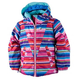 Obermeyer Ashlyn Toddler Girls Ski Jacket, Scribble Stripe, 256