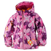 Obermeyer Ashlyn Toddler Girls Ski Jacket, Pinwheel, medium