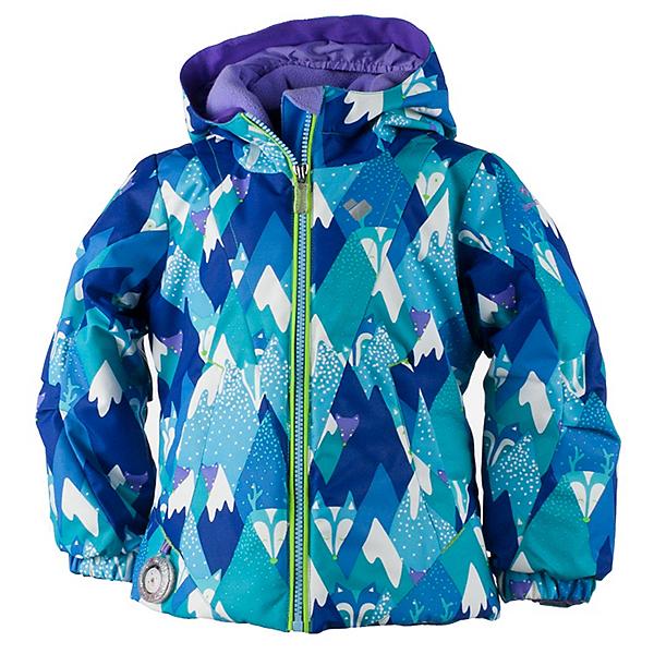 Obermeyer Ashlyn Toddler Girls Ski Jacket, Blue Mountains, 600