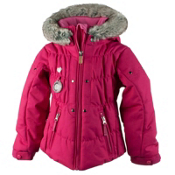 Obermeyer Juniper Toddler Girls Ski Jacket, Glamour Pink, medium