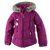 Obermeyer Juniper Toddler Girls Ski Jacket, Razzberry, medium