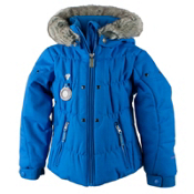 Obermeyer Juniper Toddler Girls Ski Jacket, Cornflower, medium