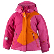 Obermeyer Trina Toddler Girls Ski Jacket, Tangerine, medium