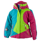 Obermeyer Trina Toddler Girls Ski Jacket, Sarah Green, medium