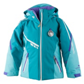 Obermeyer Leyla Toddler Girls Ski Jacket, Mermaid, medium