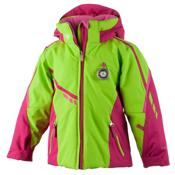 Obermeyer Leyla Toddler Girls Ski Jacket, Sarah Green, medium