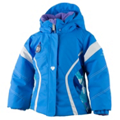 Obermeyer Aria Toddler Girls Ski Jacket, Cornflower, medium