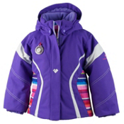 Obermeyer Aria Toddler Girls Ski Jacket, Grapesicle, medium