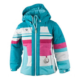 Obermeyer Snowdrop Toddler Girls Ski Jacket, Blue Reef, 256