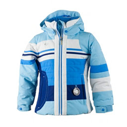 Obermeyer Snowdrop Toddler Girls Ski Jacket, Bleu Sky, 256