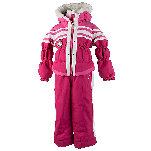 Obermeyer Skitter Toddler Girls One Piece Ski Suit, Glamour Pink, 600