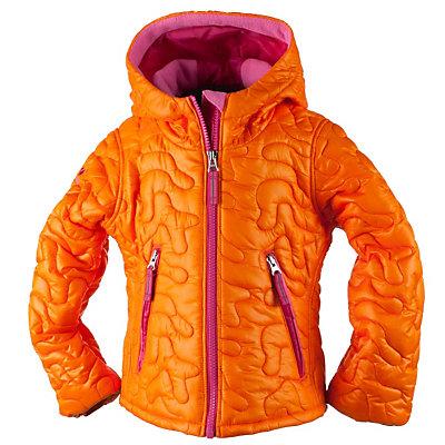 Obermeyer Comfy Toddler Girls Ski Jacket, Tangerine, viewer