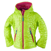Obermeyer Comfy Toddler Girls Ski Jacket, Screamin Green, medium