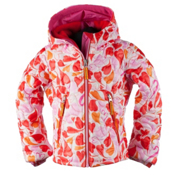 Obermeyer Comfy Toddler Girls Ski Jacket, Heart Gingham, medium