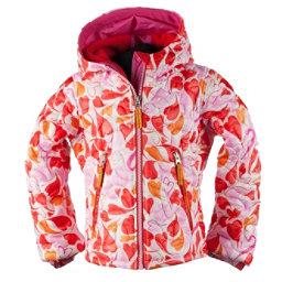 Obermeyer Comfy Toddler Girls Ski Jacket, Heart Gingham, 256