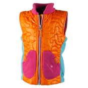 Obermeyer Snuggle Toddler Girls Vest, Tangerine, medium