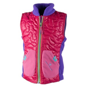 Obermeyer Snuggle Toddler Girls Vest, Glamour Pink, medium