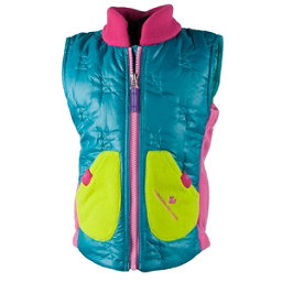 Obermeyer Snuggle Toddler Girls Vest, Mermaid, 256