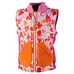Obermeyer Snuggle Toddler Girls Vest, Heart Gingham, 256