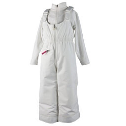 Obermeyer Snoverall Toddler Girls Ski Pants, White, 256