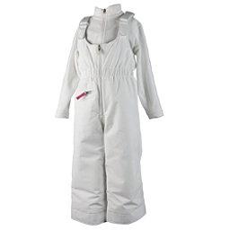 Obermeyer Snoverall Toddler Girls Ski Pants, White, 256
