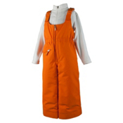 Obermeyer Snoverall Toddler Girls Ski Pants, Tangerine, medium