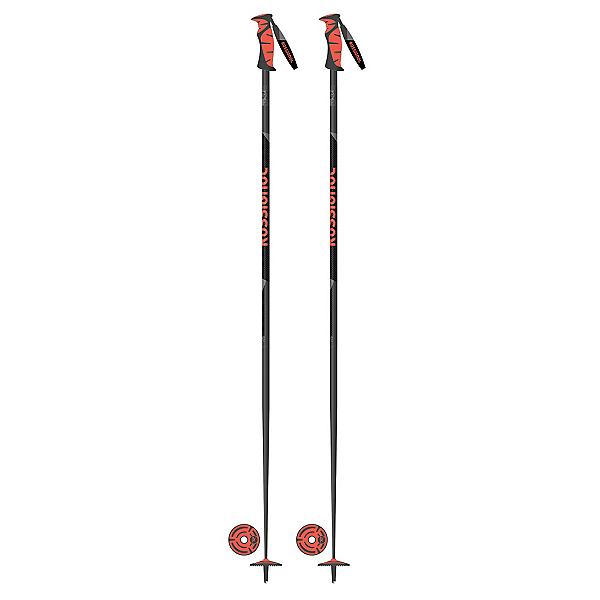 Rossignol Tactic Pro Carbon Ski Poles 2018, Carbon, 600