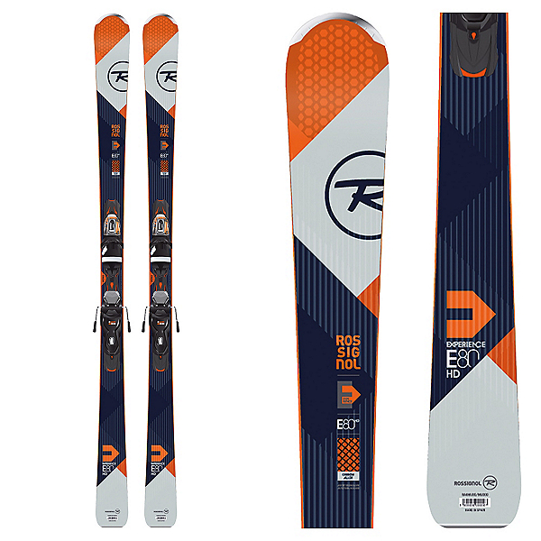 Rossignol Experience 80 HD Skis with Xpress 11 Bindings 2017, , 600