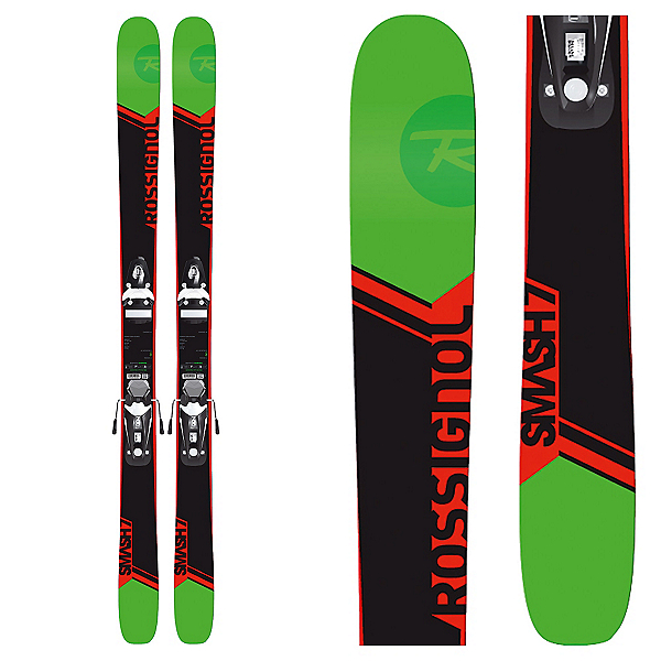 Rossignol Smash 7 Skis with Xpress 11 Bindings, , 600
