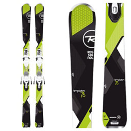 Rossignol Temptation 75 Womens Skis with Xpress 10 Bindings, , 256