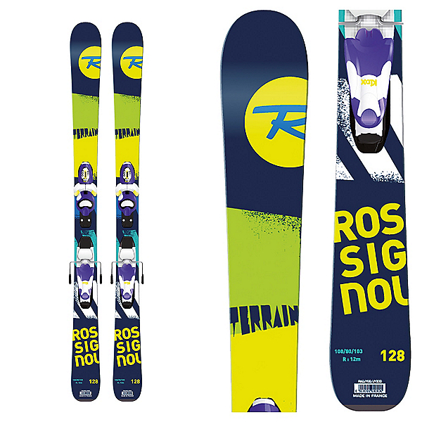Rossignol Terrain Boy Kids Skis with Kid X 4 Bindings 2017, , 600