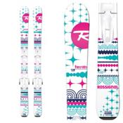 Rossignol Terrain Girl Kids Skis with Kid X Bindings 2017, , medium