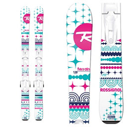 Rossignol Terrain Girl Baby Kids Skis with Kid X 4 Bindings, , 256