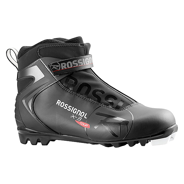 Rossignol X3 NNN Cross Country Ski Boots 2017, Black, 600